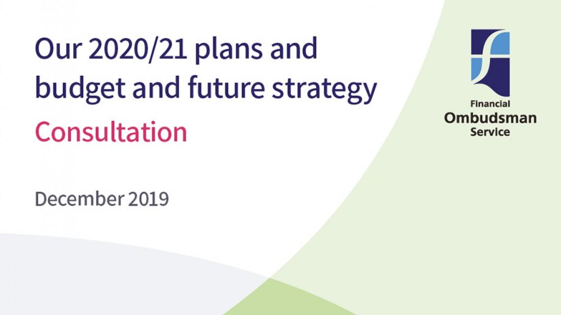 Plans and budget consultation 202021 v2