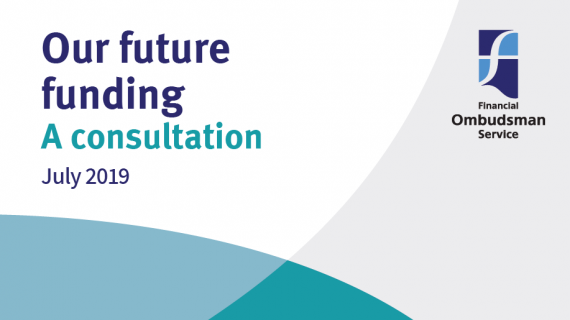 cover of our future funding - a consultation