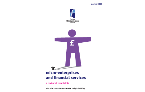 Micro-enterprises and financial services - August 2015 - download